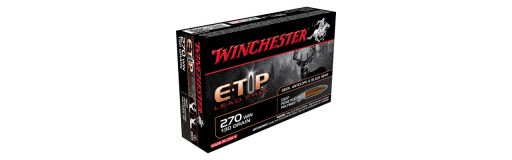 270 winchester e-tip 130 gr