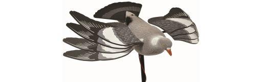 appelant pigeon électrique à ailes battantes