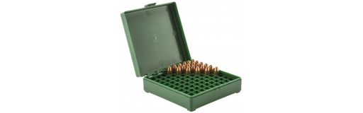 boite de rangement 100 munitions Cal. 9x19