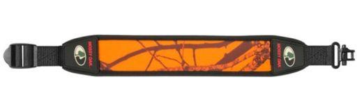 bretelle carabine néoprène orange Mossy Oak