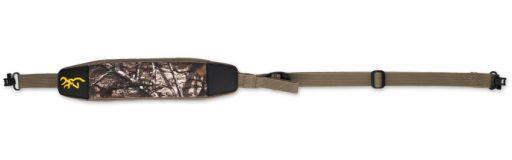 bretelle carabine Browning Néoprène Big Game Xtra