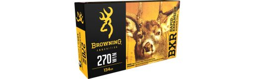 cartouches à balle Browning 270 Win BXR