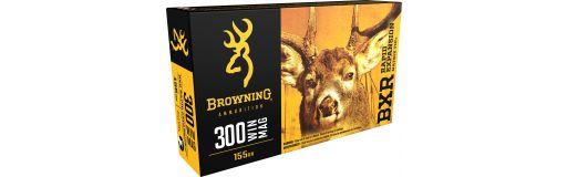 cartouches à balle Browning 300 WM BXR