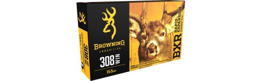 cartouches à balle Browning 308 Win BXR