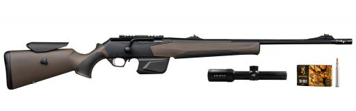 carabine linéaire Browning Maral SF Composite Brown Pack 2.5-15x56i