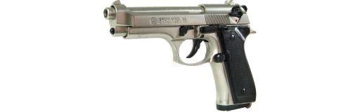 pistolet d'alarme Bruni 92 chromé