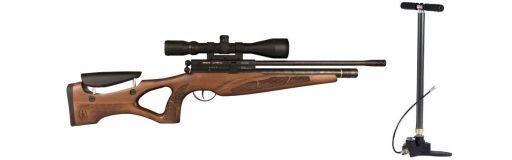 carabine à plomb BSA PCP Brigadier 5,5 Pack avec pompe