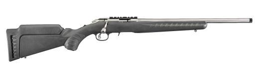 Carabine verrou 22LR Ruger American Rimfire Inox