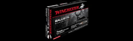 cartouches à balle 7mm Rem Winchester Ballistic Silvertip 150 gr