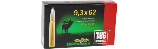 Cartouches à balle Brenneke TUG 9.3X62
