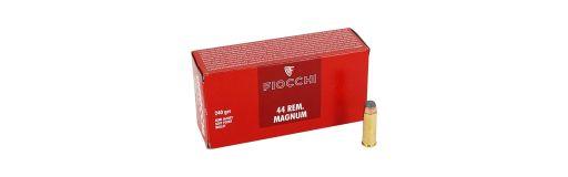 Cartouches Fiocchi SJSP cal 44 Rem Mag 240 gr