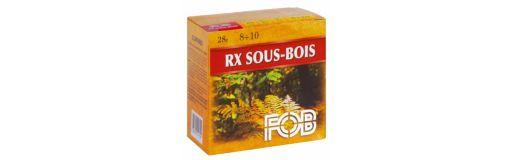 Cartouches à plomb FOB RX Sous Bois 20/70