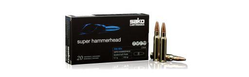 Cartouches Sako 308 Win Super Hammerhead 150 gr