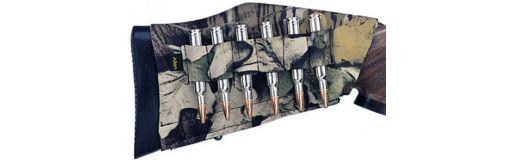 cartouchière de crosse carabine camo