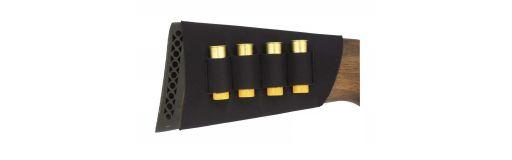 cartouchière de crosse fusil 4 cartouches