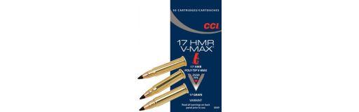 cartouches à balle CCI 17HMR V-Max