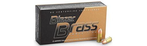 munitions CCI Blazer Brass 9x19 FMJ 124 gr