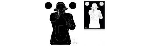 cible silhouette police