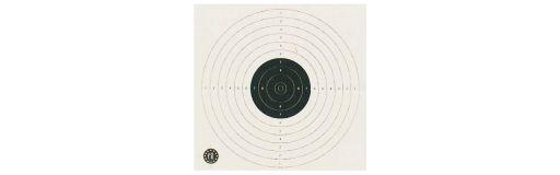 cible de tir carton 17x17 paquet de 250