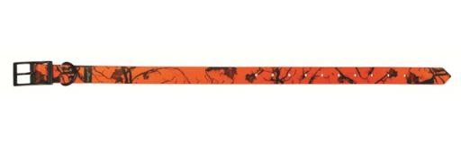 collier pour chien Fuzyon TPU camo orange