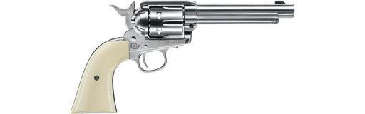 revolver CO2 Colt Single Action Army 45 Nickelé Diabolo