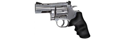 """revolver CO2 Dan Wesson DW715 2.5"""" Silver plomb"""