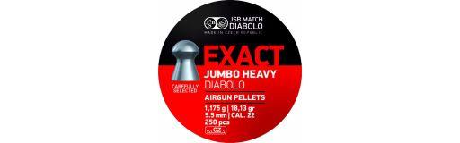 Plombs 5,5 mm JSB Exact Jumbo Heavy