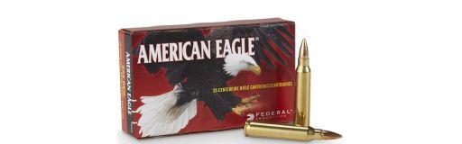 munition Federal American Eagle 223 Rem FMJ-BT 55 gr