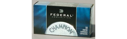 Cartouches à balle Federal Champion 22 LR 40gr