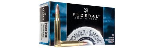 cartouches à balle Federal Power Shok 243 Win SP 80 gr