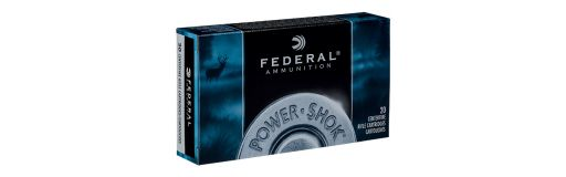 cartouches à balle Federal Power Shok 270 Win SP RN 150 gr