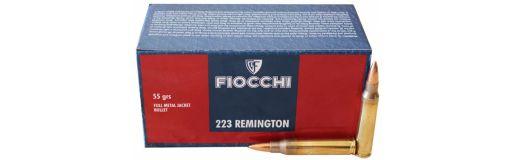 munitions Fiocchi 223 Rem FMJ 55 gr