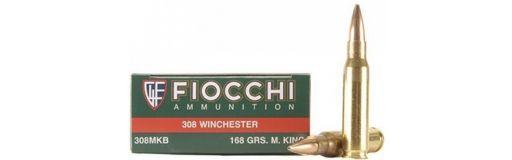 cartouches à balle Fiocchi 308 Win MatchKing HP