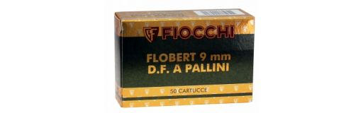 Cartouches à plomb Fiocchi 9mm Flobert D.F. A Pallini