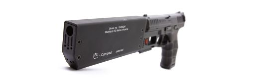 Silencieux Fischer FD917 compact 9 mm Glock 17 Gen 3 et 4
