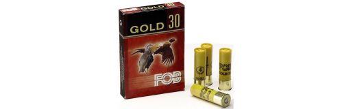 Cartouche à plomb FOB Gold 30 Calibre 20