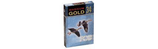 cartouches à plomb FOB Gold 34 Magnum