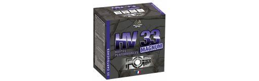 cartouches à billes acier FOB HV 33 Magnum HP