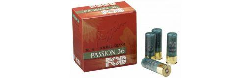 cartouches à plomb FOB Passion 36 BG