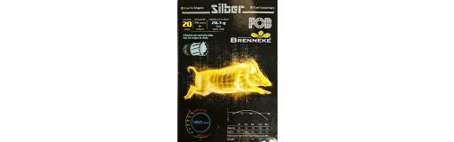 cartouches à balle FOB Silber 20/76