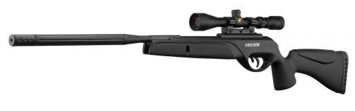carabine à plomb Gamo Bull Whisper Socom lunette 3-9x40