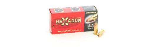 Munitions Geco 9x19 Hexagon 124gr