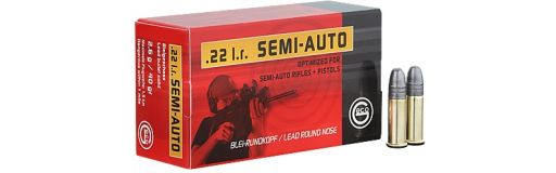 cartouches à balle Geco 22LR semi-auto