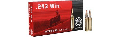 cartouches à balle geco 243 win express
