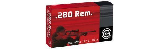 cartouches à balle Geco 280 Rem demi-blindée