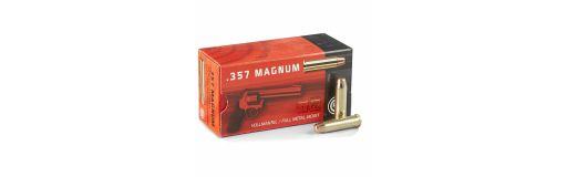 munitions Geco 357 Mag FMJ 158 gr