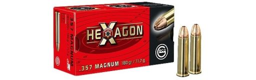 munitions Geco 357 Mag Hexagon 180 gr