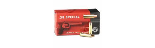 munitions Geco 38 Spécial FMJ Flat Nose 158 gr