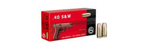 munitions Geco 40 S&W FMJ Flat Nose 180 gr