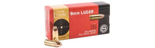 munitions Geco Spécial Sélection 9x19 FMJ 124 gr